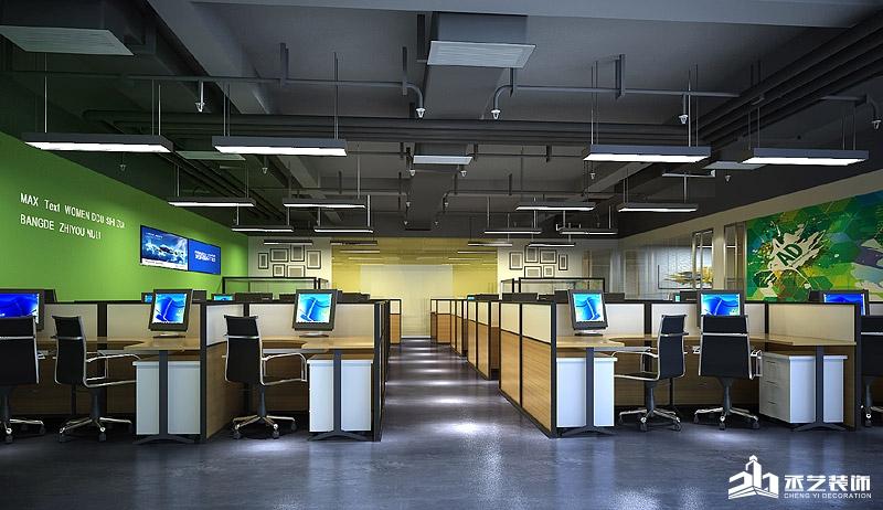 ACE集团办公楼BOB体育appios下载设计 开放办公区域