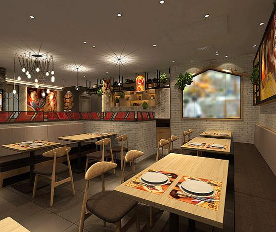 斯巴达披萨西餐厅设计BOB体育appios下载