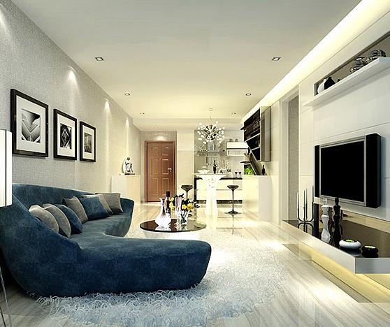 年轻时尚黑白风格设计住宅BOB体育appios下载