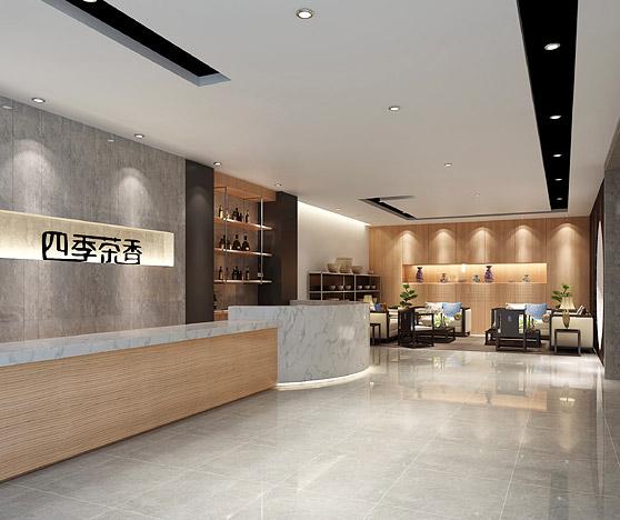 佛山市四季茶香茶具有限公司展厅BOB体育appios下载办公室设计