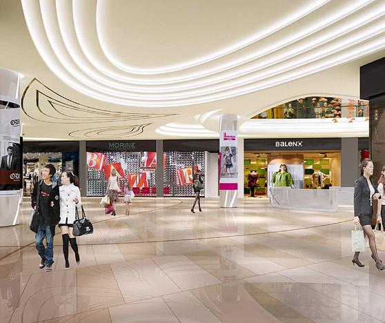 飞晟汇国际风尚商业街设计BOB体育appios下载