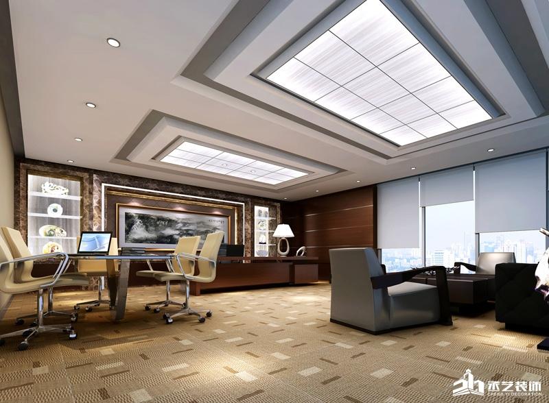 中铁港航局办公室设计装修