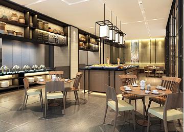 广东航运大厦餐厅设计BOB体育appios下载