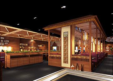 泰鸣东南亚餐厅设计,餐厅设计BOB体育appios下载